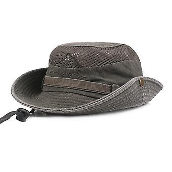 Pălărie tri-polară pentru drumeții/capac pliabil late pentru protecție solară de vânătoare/drumeții,