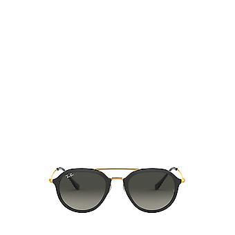 راي بان RB4253 نظارات شمسية سوداء للجنسين
