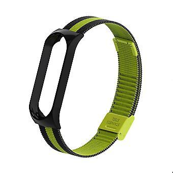 Polsmetalen armband, schroefloze roestvrijstalen miband 4/3/5 riem polsbandjes