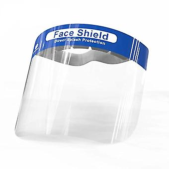 10pcs Transparent Plastic Safety Face Shields For Head Mask Eye Faces