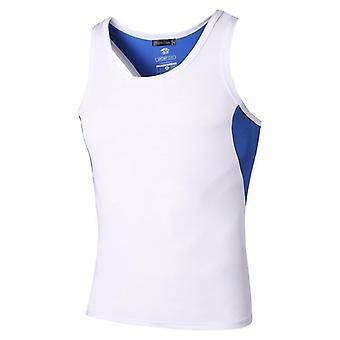 Men's Quick Dry Slim Fit Sleeveless Sport Tank Tops Shirts, Workout Running