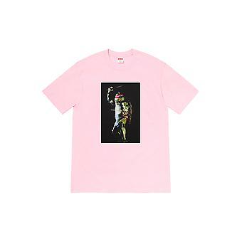 Supreme Raphael Tee Light Pink - Clothing
