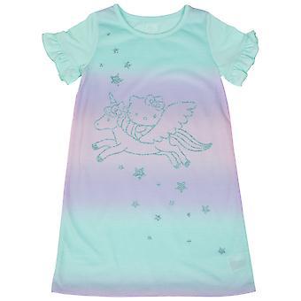 Hello Kitty Glitter Unicorn Ride Girl's Sleep Gown