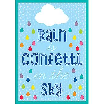 Hello Sunshine Rain Is Confetti In The Sky Chart