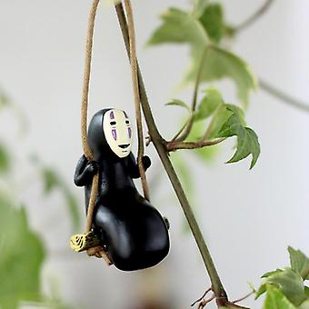 Studio Ghibli Spirited Away No Face Man Toimintahahmo Malli (musta)
