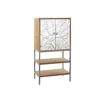 Sideboard Dekodonia Silver Metal Fir (76 x 40 x 149 cm)