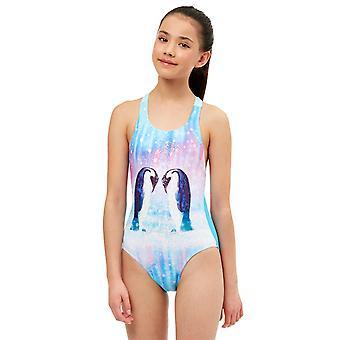Maru Girls Northern Lights Sparkle Swimsuit