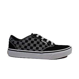Vans YT Atwood Checker Dot Canvas Boys Lace Up Sneakers