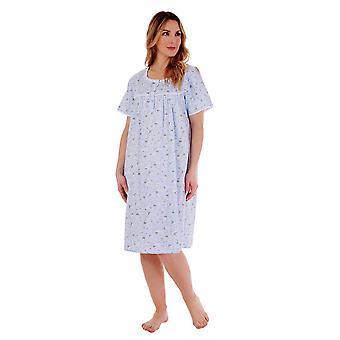 Slenderella ND77261 Women's Floral Cotton Nightdress