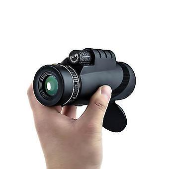 40X60 monokulær optisk hd 2000t linseteleskop bak4 dag nattsyn