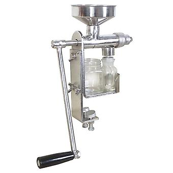 Stainless Steel Home Manual Oil Press Machine Olive Oil Mill Expeller Hand