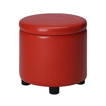 Designs4Comfort Round Accent Storage Ottoman - R9-161