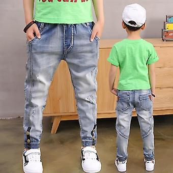 Lose Solid Casual Jeans