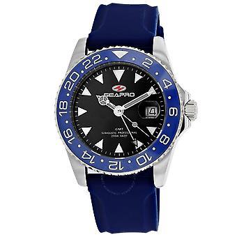 Seapro Agent Quartz Black Dial Men's Watch SP0122BL