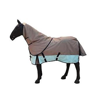 Avtagbar, vindtät och vattentålig varm hästduk