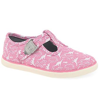 Start-Rite Fossil Girls Infant Canvas Shoes