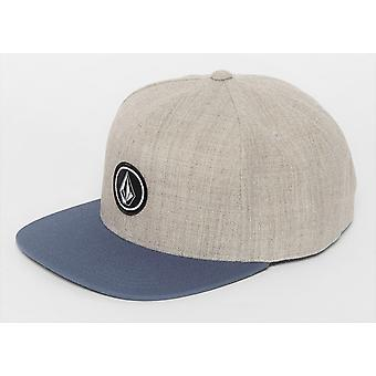 Volcom Men's Snapback Cap ~ Neljännes Twill CHB
