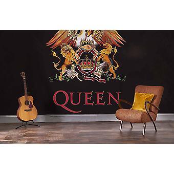 Mural de la Reina - Crest