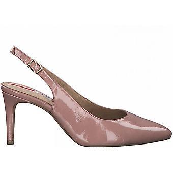 Alte Rose elegante Mittelfere Heels