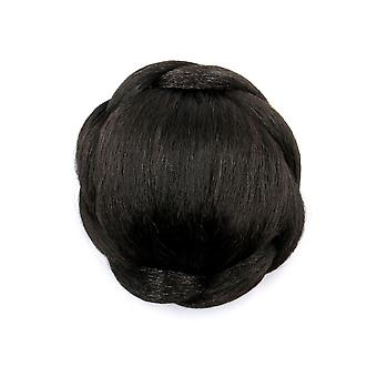 Spiral Roll Hair Bun Wig Ponytail Hair