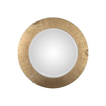 Kolarz MOON - Integrert LED Livsstil Glass Enkel Flush Tak Lys Gull - Sol Gull Finish