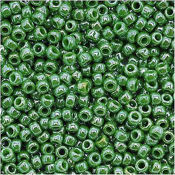 Toho Pyöreä Siemenet 11/0 130 'Läpinäkymätön lustered minttu vihreä' 8 Gram Tube