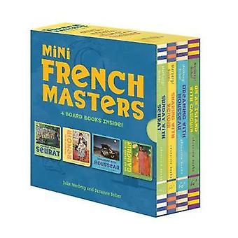 Mini French Masters Boxed Set 4 Board Books Inside 1