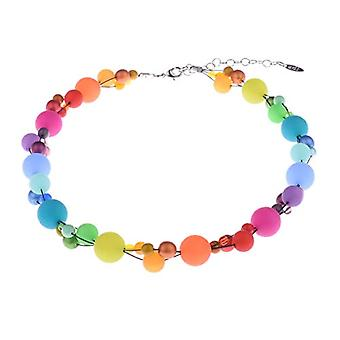Amelie Chain Mix Material, Silver Plated, Color: bunt, cod. 2177-B