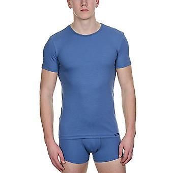 Bruno Banani Shirt Perfect Line Dressing Gown, Blue (Denim), XX-Large Men