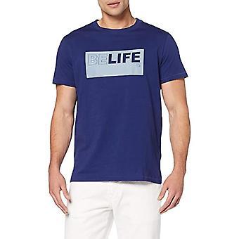 Pepe Jeans Iggy M T-shirt, Blue (Steel Blue 563), Medium Men's