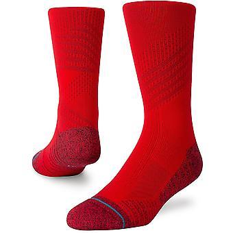 Holdning Athletic Crew Sokker i rød