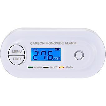 CO Melder EN 50291 Zertifiziert, Kohlenmonoxid Melder mit Digitalanzeige und Temperatur,