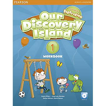 Our Discovery Island American Edition Workbook with Audio CD 1 Pack by Laura MillerJose Morales