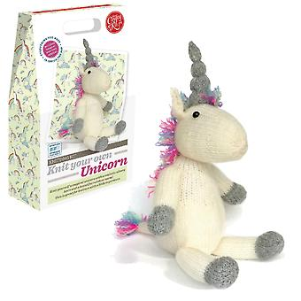 Knit Your Own Unicorn Knitting Kit For Improvers