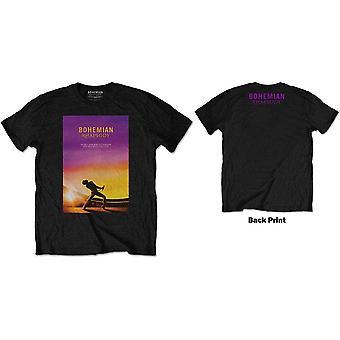 Königin - böhmische Rhapsodie Herren große T-Shirt - schwarz