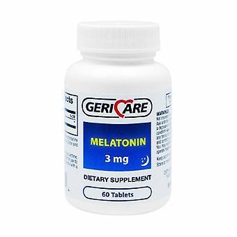 McKesson Natural Sleep Aid Geri-Care 60 per bottiglia Compressa 3 mg Forza, 60 Schede