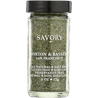 Morton & Bassett Savory, Case of 3 X 0.8 Oz