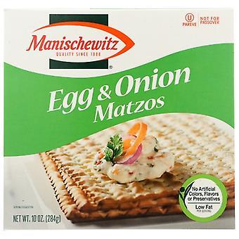 Manischewitz Matzo Egg & Onion, Case of 12 X 10 Oz