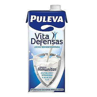 Halvskummet melk Puleva Vita (1 L)