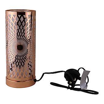 Kalejdoskop Design Färgbyte LED-lampa & Aroma Diffuser i roséguld