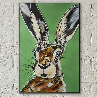 Mad Hare Day Wall Tile por S Fenner