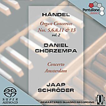 G.F. Handel - H Ndel: Organ Concertos, Vol. 2 [SACD] USA import