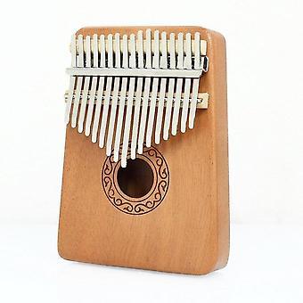 Kalimba 17 avain mahonki instrumentti peukalo piano suuri ääni sormi kosketinsoittimen söpö lisävaruste riipus lahja