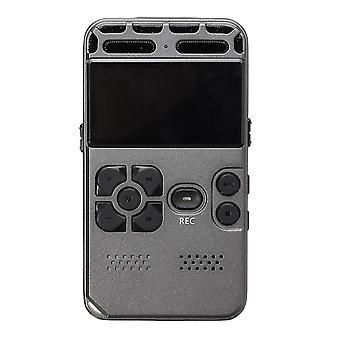 8 GB uppladdningsbar LCD Digital Audio Sound Voice Recorder Dictaphone