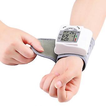 Digital lcd Handgelenk Blutdruckmessgerät Herzschlag Rate Pulsmesser Messen