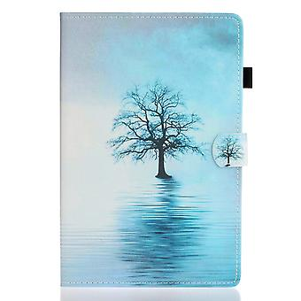 Case For Samsung Galaxy Tab S7 Cover With Auto Sleep/wake Pattern Magnetic - Tree