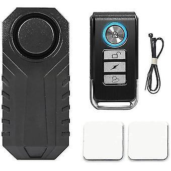 Allarme antifurto con telecomando 113db per moto / bici / scooter / veicoli /, super rumoroso