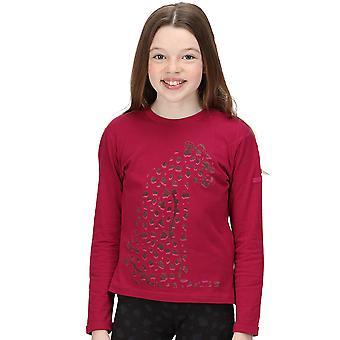 Regatta Girls Wenbie Ii Organic Cotton Long Sleeve T Shirt