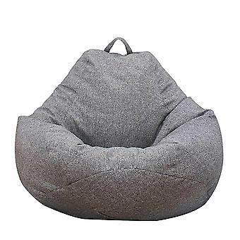 Adultos Bean Bag Chair Sofá Couch Cover Interior Lazy Lounger Sin Relleno