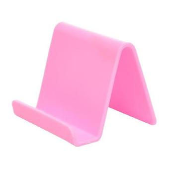 Cetechia Universal Phone Holder Candy Desk Stand - Video Calling Smartphone Holder Desk Stand Pink